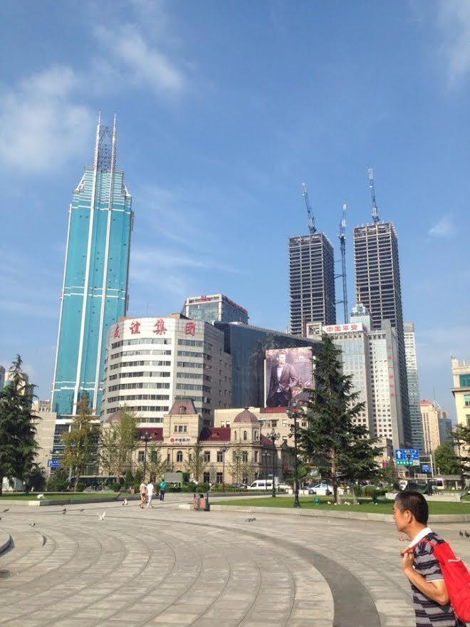 Моя поездка в Китай: первые впечатления  (Даляньский педагогический университет)