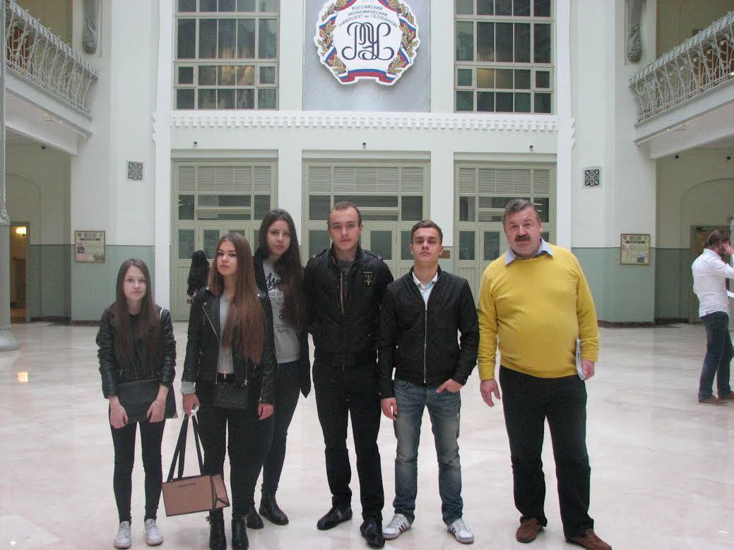 На факультете Менеджмента прошла очередная встреча со школьниками