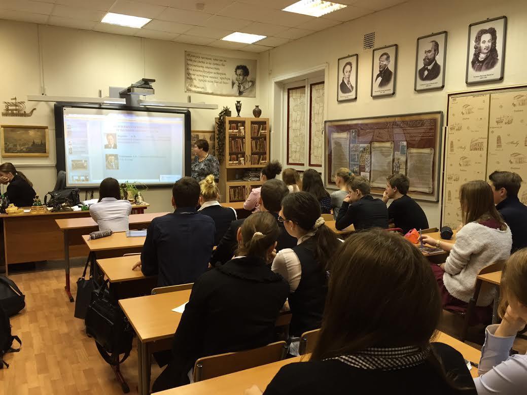Факультет менеджмента продолжает вести профориентационную работу в школах