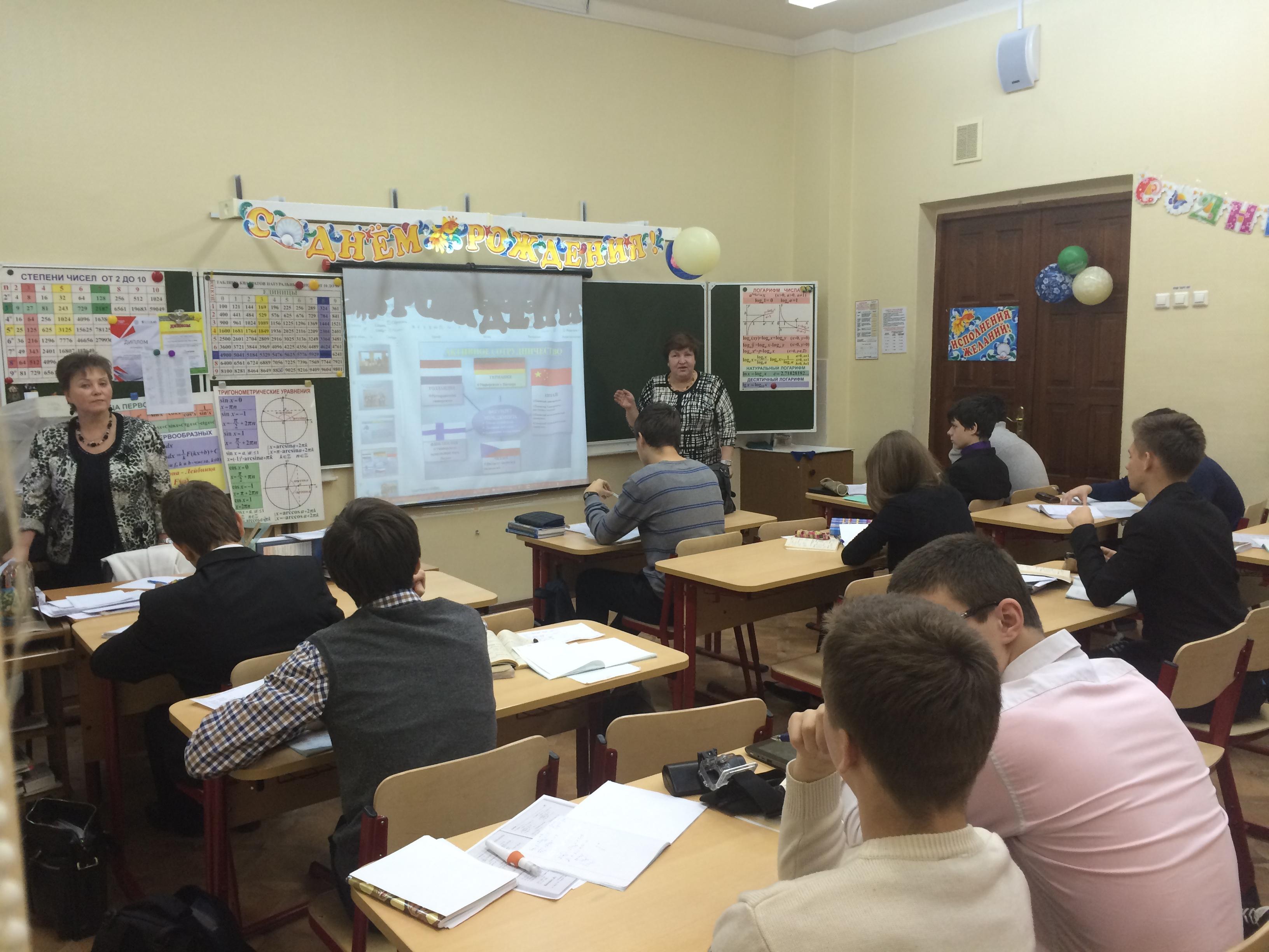 На факультете Менеджмента РЭУ продолжается профориентационная работа в школах